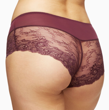 Blush Hipster Brief Elderberry