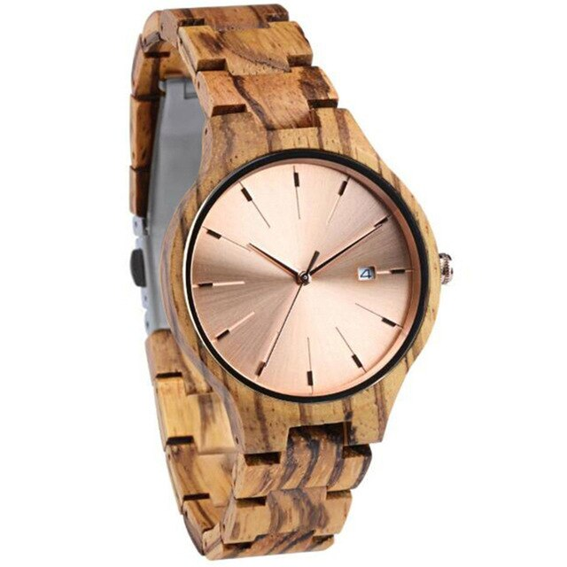 Wood Wear Olive Watch