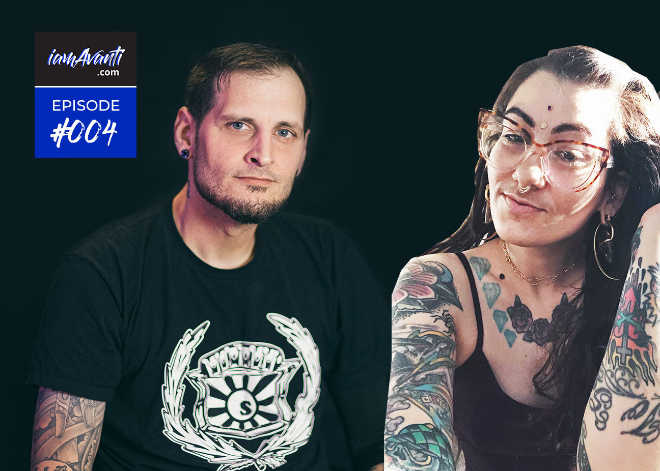 EP004: Ursula & Jasper Interviews! 20+ Yrs Piercing Experience With Two of Avanti's Awesome Piercers!