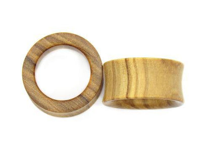 OMW | Simple Wood Tunnel Pair - Avanti Body Piercing & Fine Jewelry