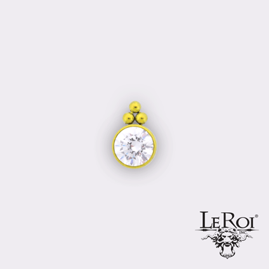 LeRoi | Haute Couture Captive Bead 11HC-3 - Avanti Body Piercing & Fine Jewelry