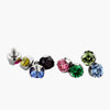 14g Threaded Prong-Set Gem End