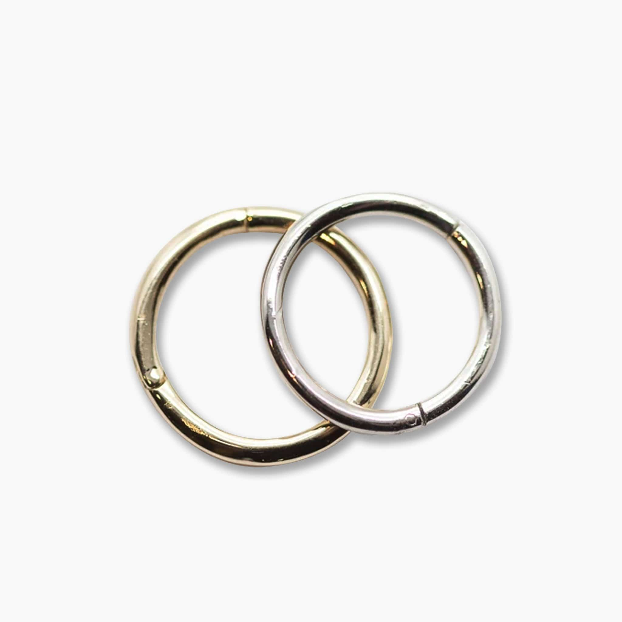 14k Gold Hinged Segment Ring