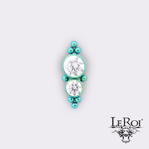 LeRoi | Haute Couture Threaded End 1HT-8 - Avanti Body Piercing & Fine Jewelry