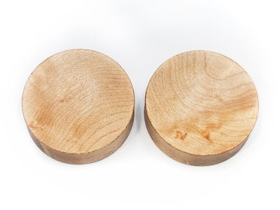 OMW | Concave Wood Plug Pair - Avanti Body Piercing & Fine Jewelry