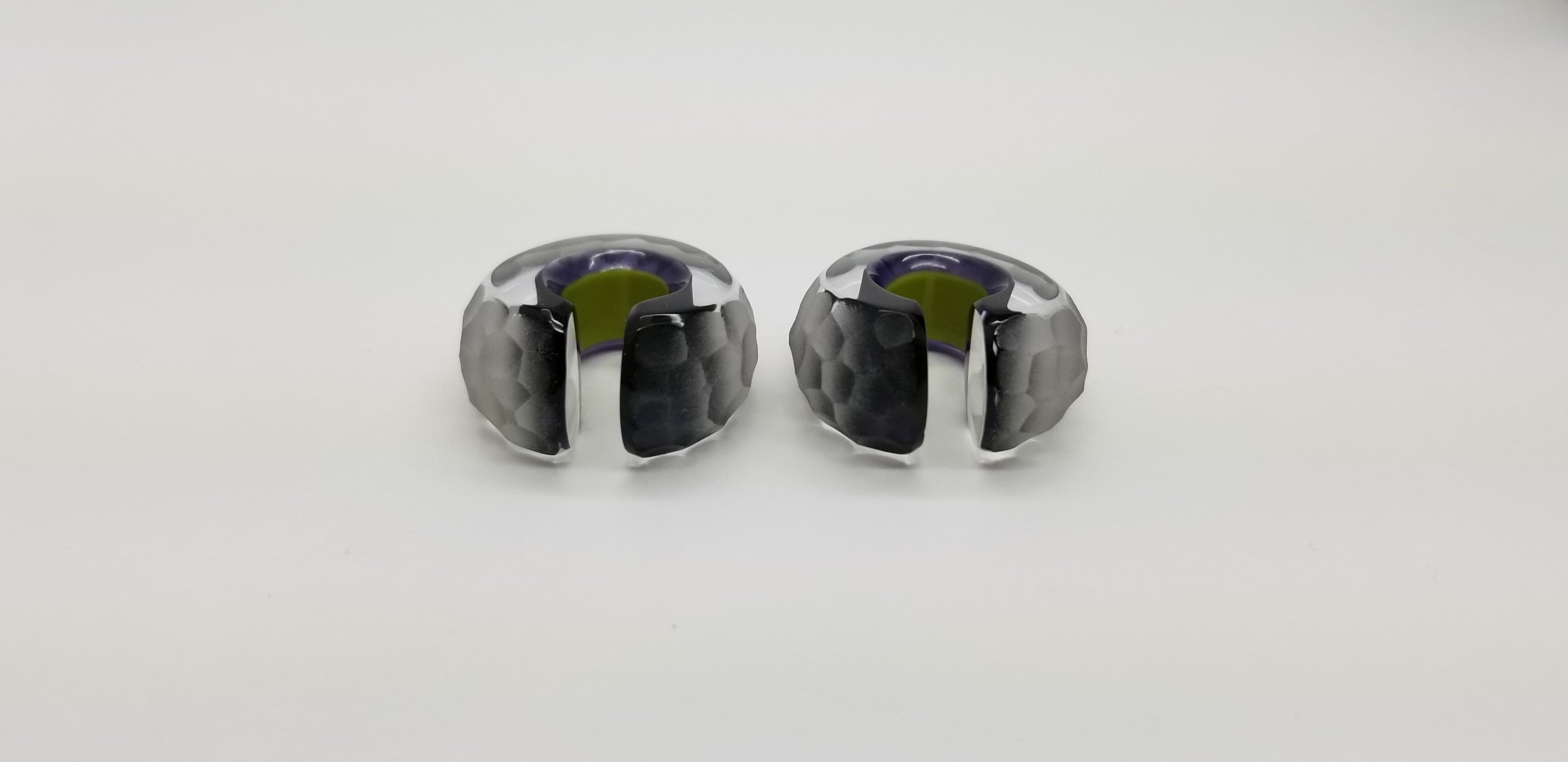 Gorilla Glass | Pharaoh Weights Martelle Finish - Avanti Body Piercing & Fine Jewelry