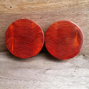 OMW | Wood Amboyna Burl Plugs - Avanti Body Piercing & Fine Jewelry