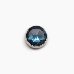 Threadless Bezel Set Stone Cabochon Top