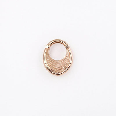 Tether Jewelry | 'Drake' Hoop Weights - Avanti Body Jewelry  - 5