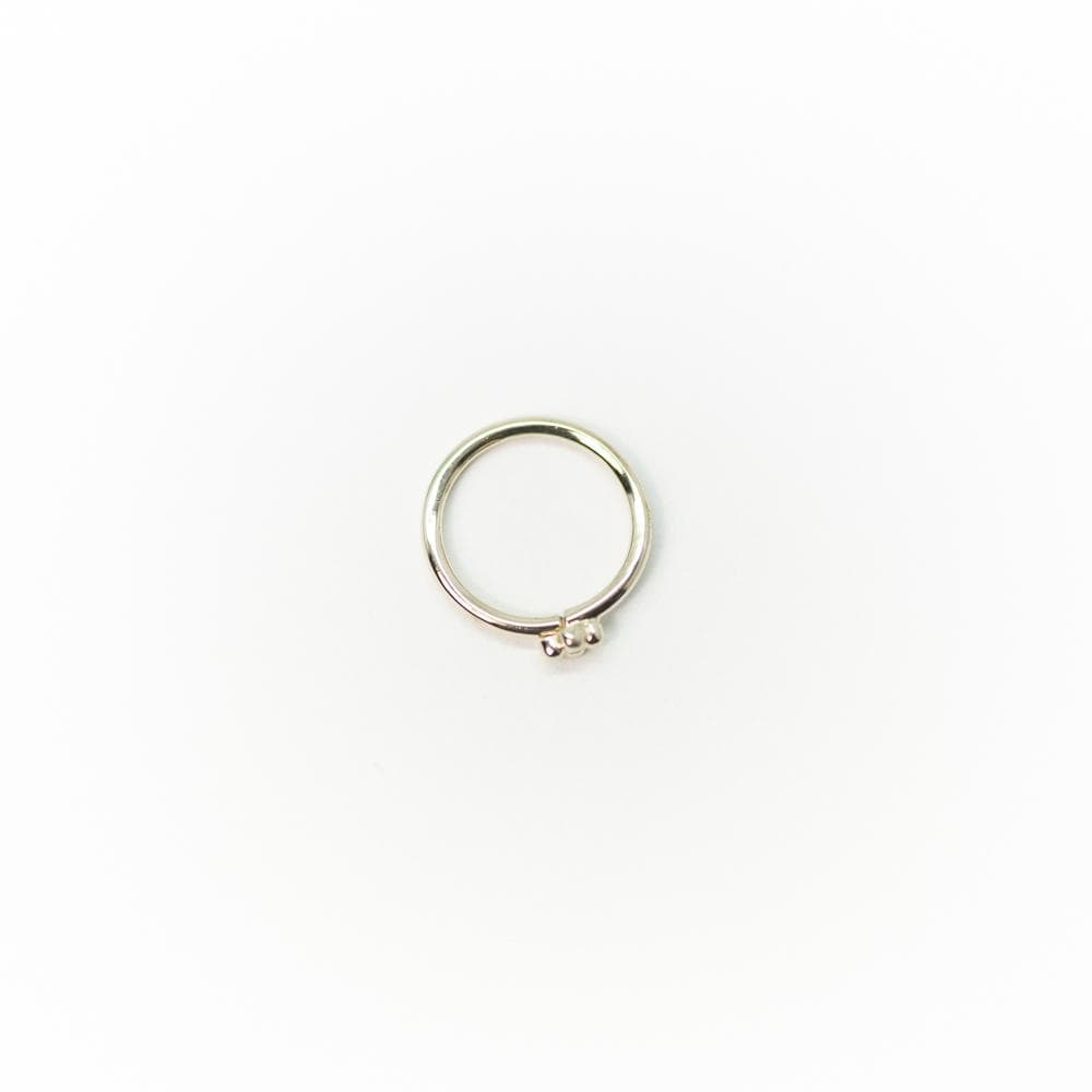 14k Quad-Bead Seam Ring
