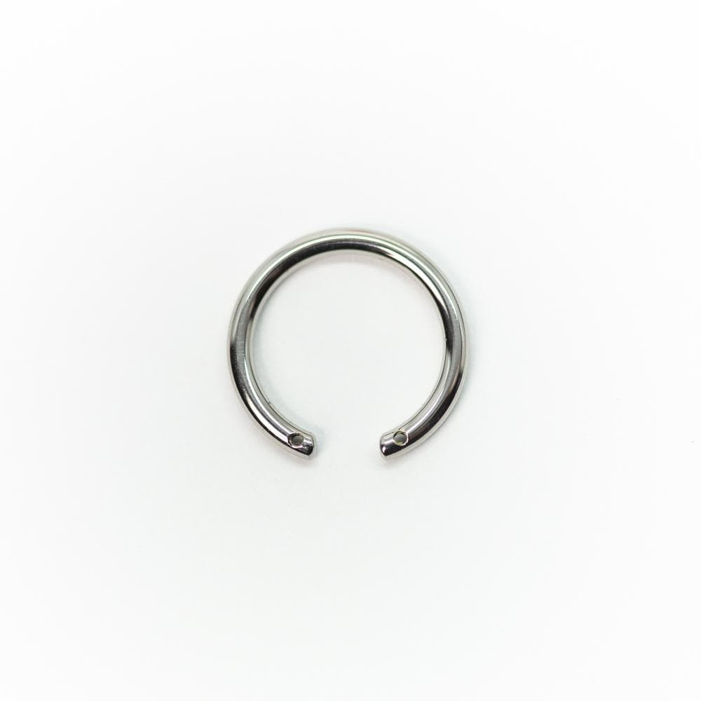 Titanium Front Facing Horseshoe (Barbell Only)