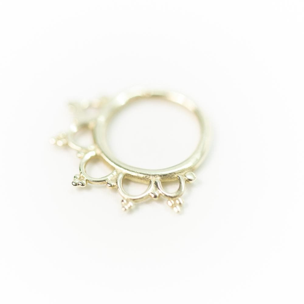 Buddha Jewelry | 14k Gold Anoora Seam Ring