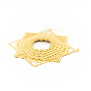 Tether Jewelry | 'Temple' Earrings in Gold