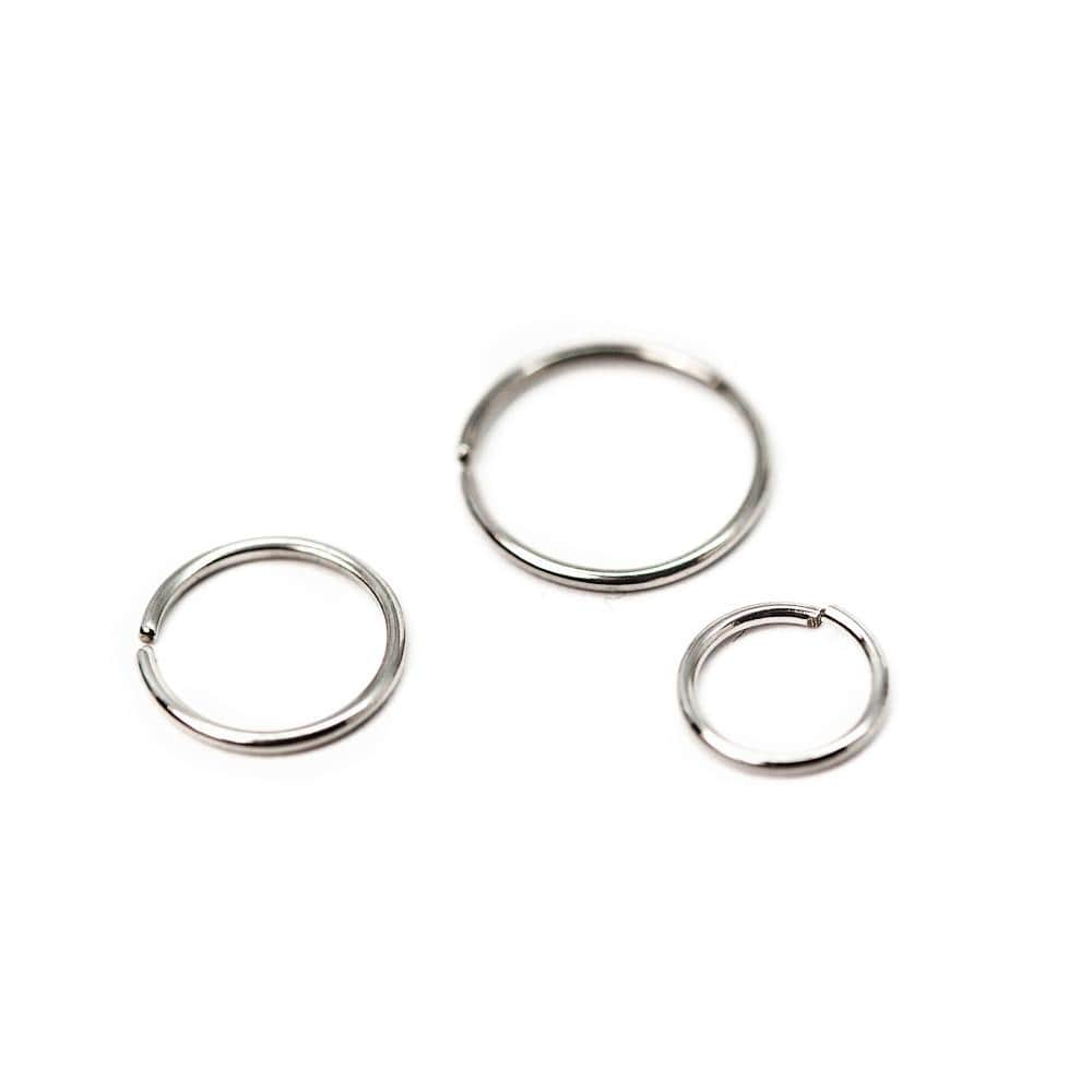 Implant Grade Steel Seam Ring