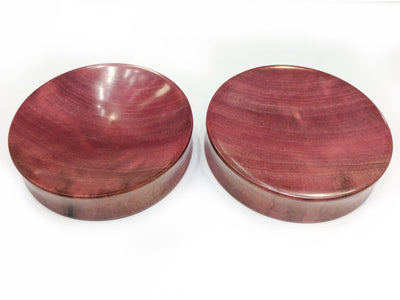 OMW | Single Side Concave Wood Plug Pair - Avanti Body Piercing & Fine Jewelry