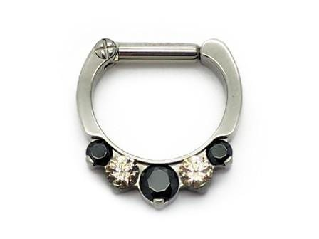 I.S. | Prong Set Gem Clicker - Avanti Body Piercing & Fine Jewelry