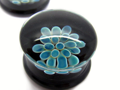 "Glasswear Studios | 3/4"" Koosh Plugs - Avanti Body Jewelry  - 1"