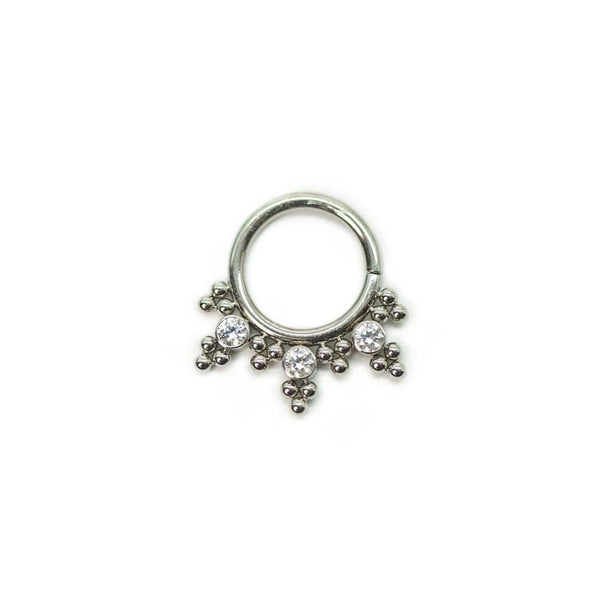 LeRoi | Haute Couture Gem Beaded Seam Ring