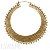 Tawapa Afghan Hoop Earrings - Avanti Body Jewelry  - 1