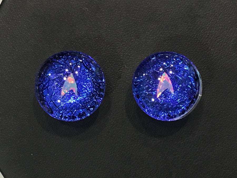 Glasswear Studios | Star Fleet Dichro Image Plugs 5/8""