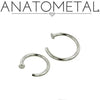 Anatometal | Implant Grade Steel Nostril Nail - Avanti Body Piercing & Fine Jewelry