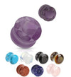 Faceted Stone Plug Pair - Avanti Body Jewelry
