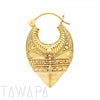 Tawapa Kerala Earrings - Avanti Body Jewelry  - 1