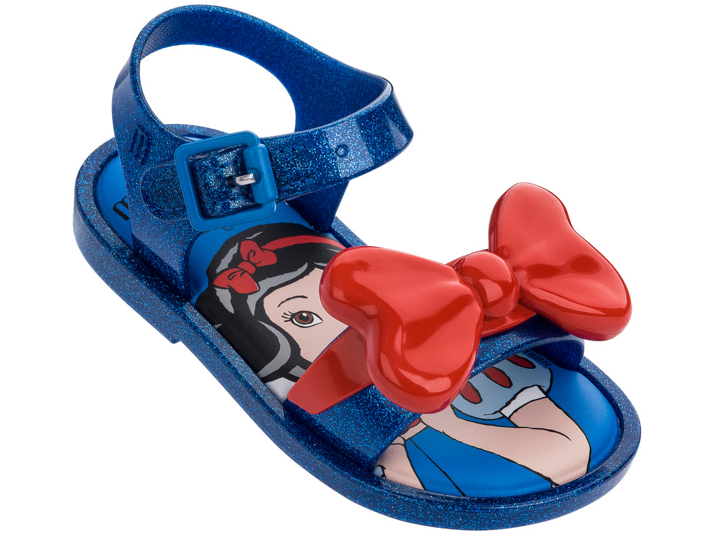Mini Melissa Mar Sandal + Snow White Bb