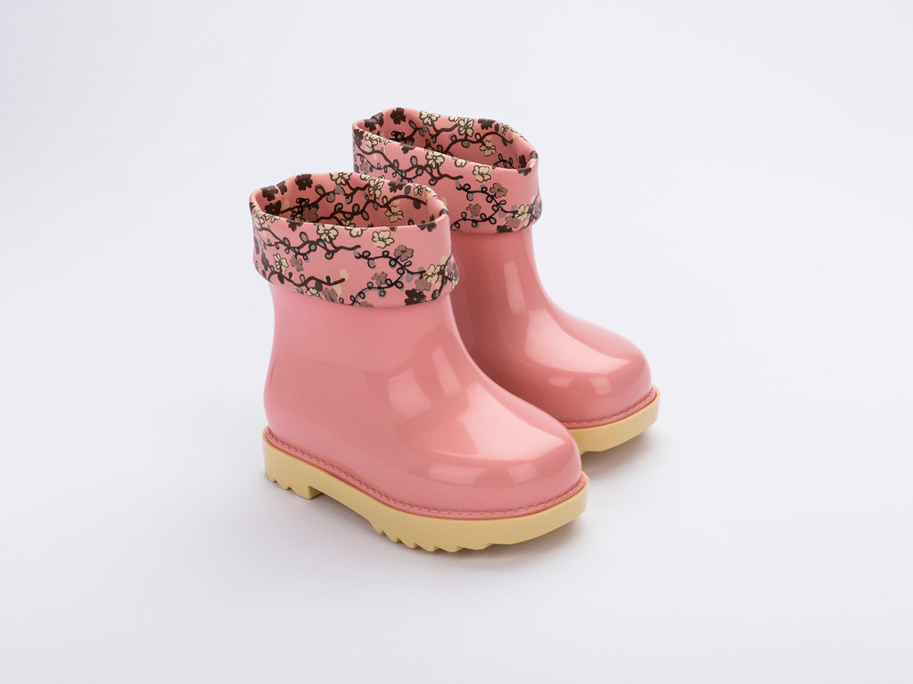 Mini Melissa Rain Boot + Rose&Bleu Bb