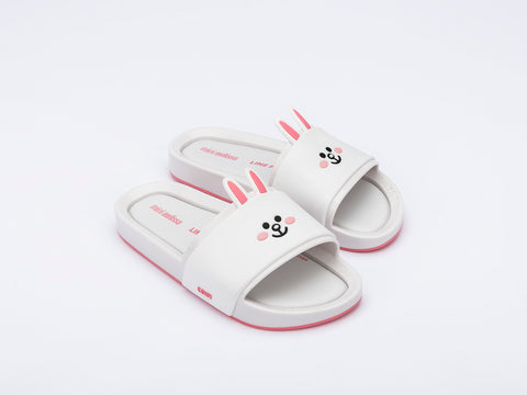 Mel Beach Slide + LINE FRIENDS Inf