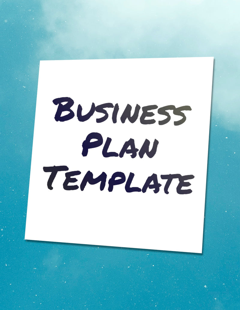 Business plan template - BravePanda