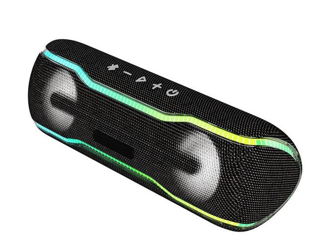 Bluetooth Speaker With Drum Light - BravePanda