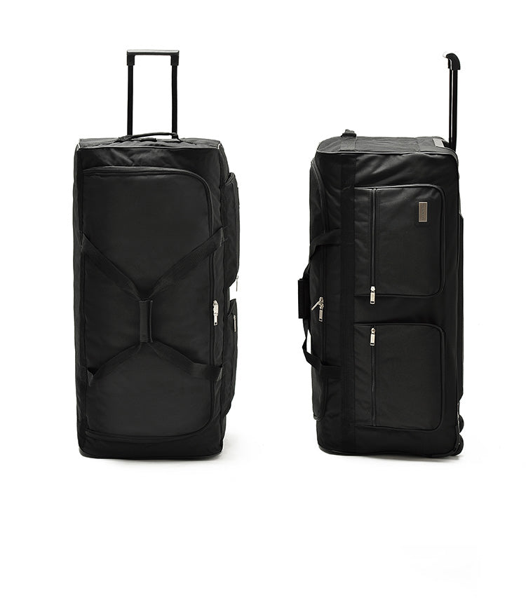 "TRAVEL TALE 32""40"" Inch Super Large Canvas rolling luggage Height 100cm"
