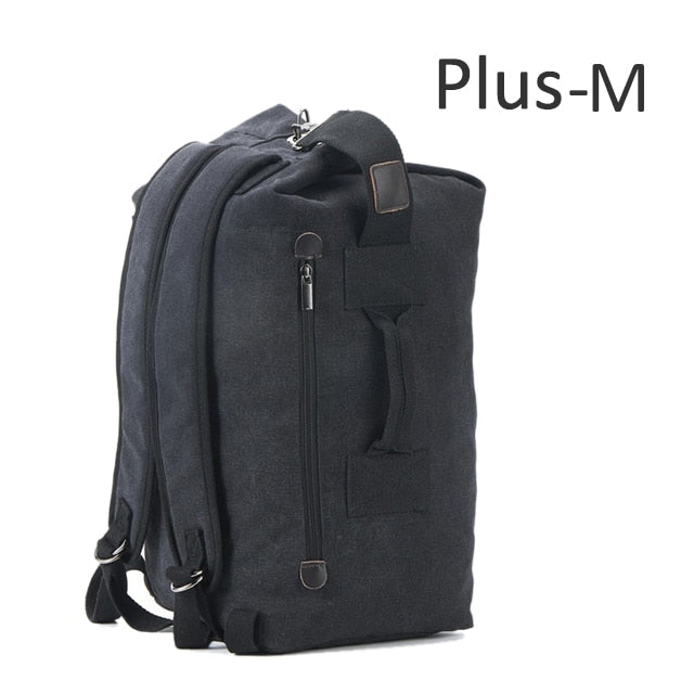 Canvas Large Capacity Backpack