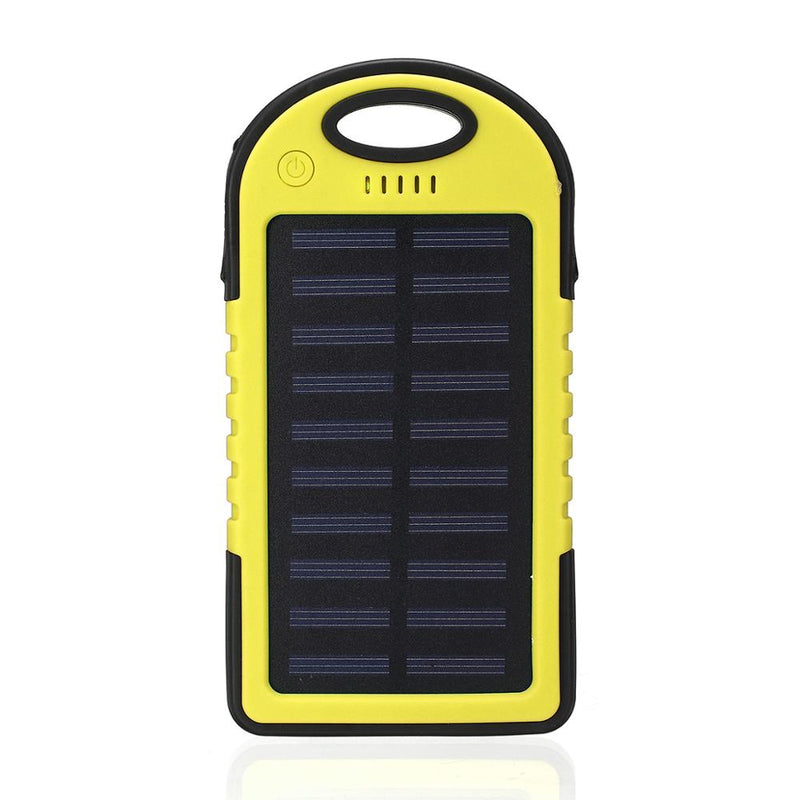 12000mAh Portable Solar Panel Dual USB Charger