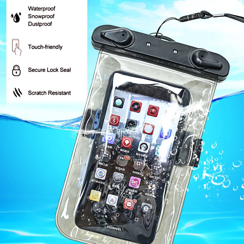 Universal Waterproof Pouch Cellphone Dry Bag Case for all Phones