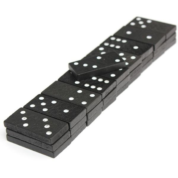 28pcs/set Travel Dominoes Game