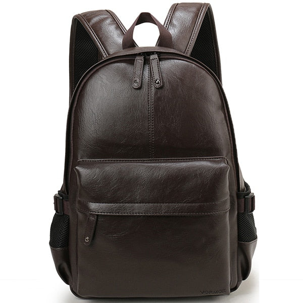 Casual Leather Backpack