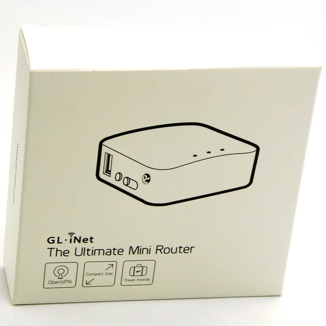 Wireless Travel Router, USB Port, High Performance