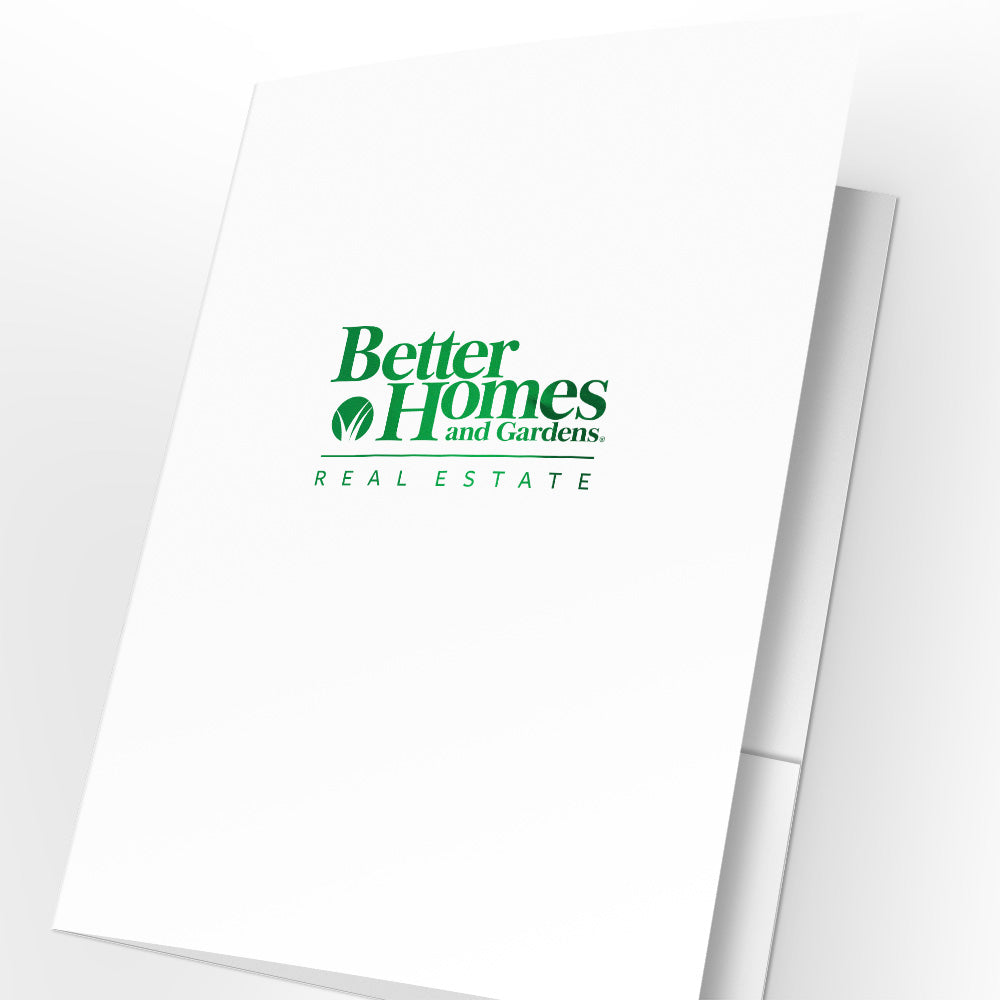 Better Homes & Gardens Presentation Folders with Foil (25 pack)