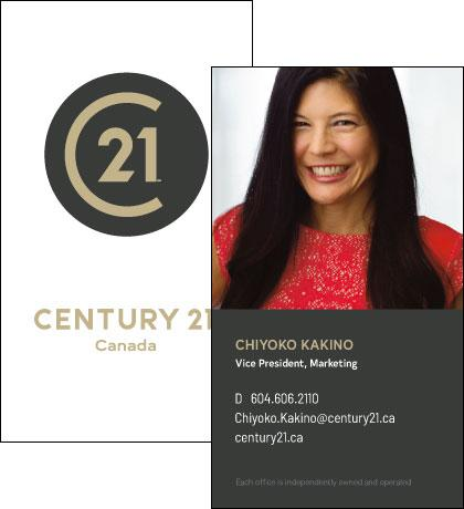 C21-BC-RSUV-01 Business Cards
