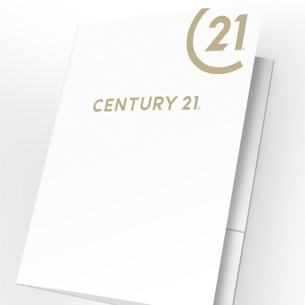 Century 21 Presentation Folders with Foil (25 pack)