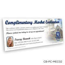 Load image into Gallery viewer, Coldwell Banker Market Analysis Certificates