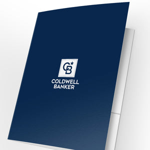 Coldwell Banker Presentation Folders with Foil (25 pack)