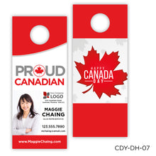 "Load image into Gallery viewer, Canada Day Door Hangers (3.5 x 8.5"")"