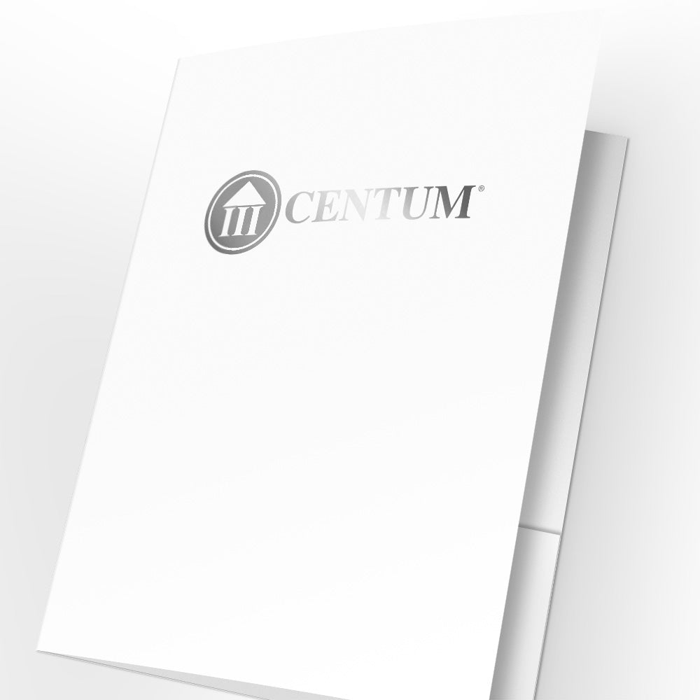 Centum Presentation Folders with Foil (25 pack)