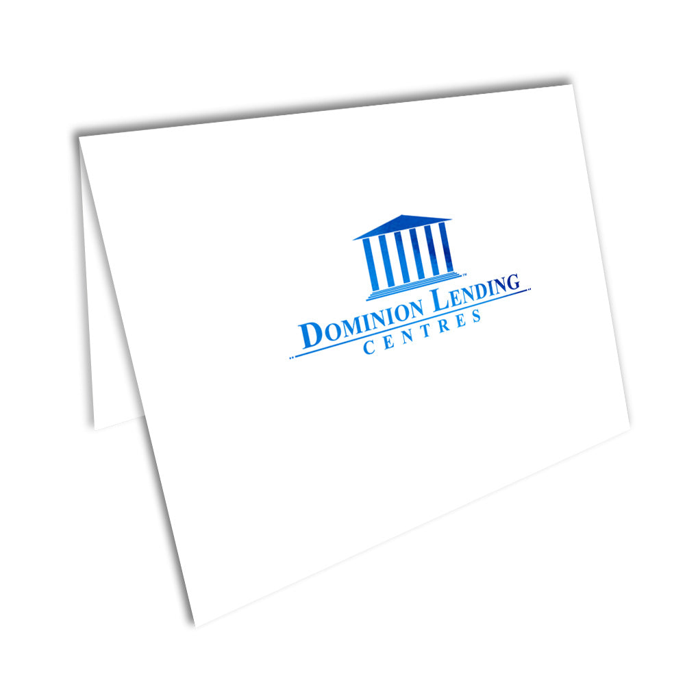 Dominion Lending Foiled Note Cards