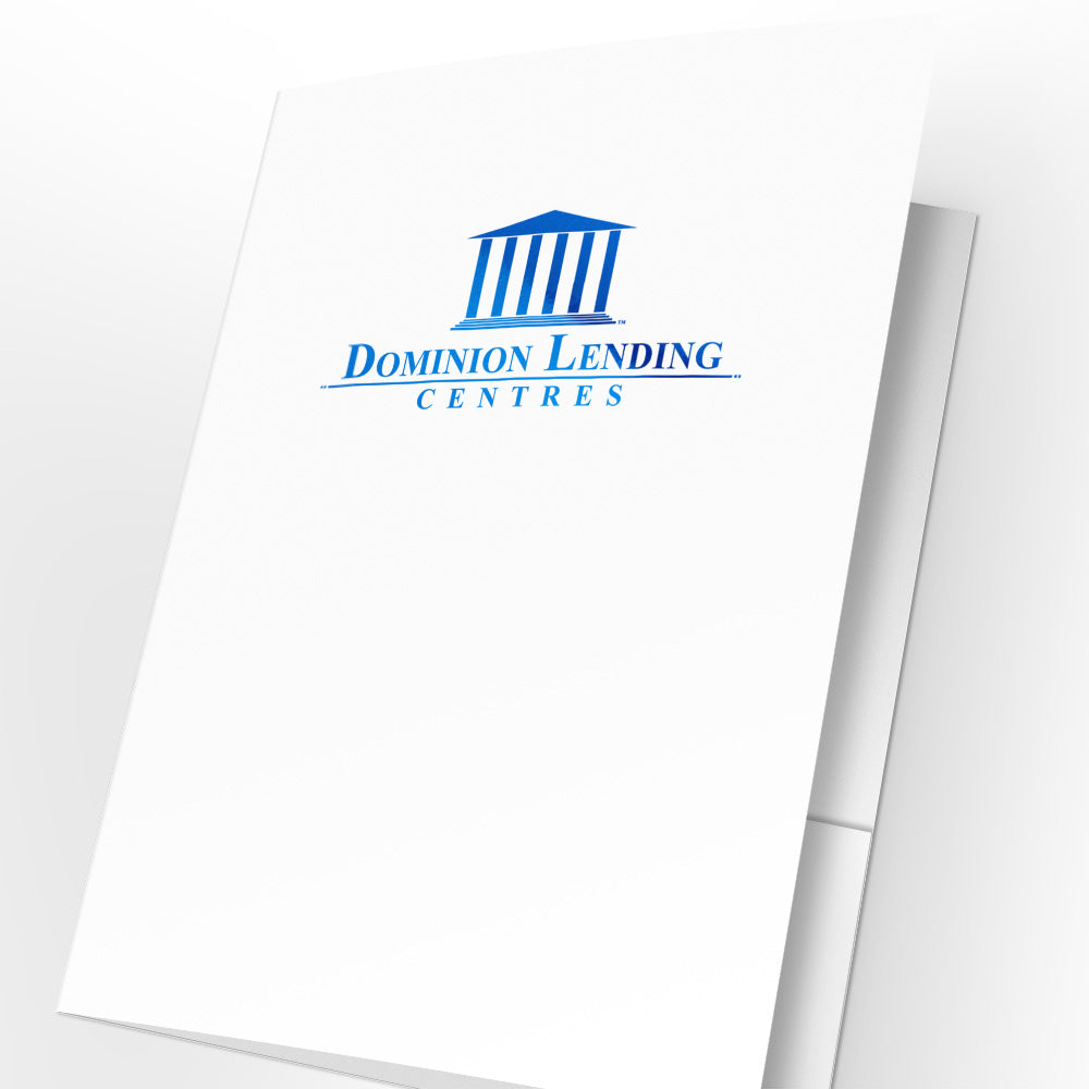 Dominion Lending Presentation Folders with Foil (25 pack)