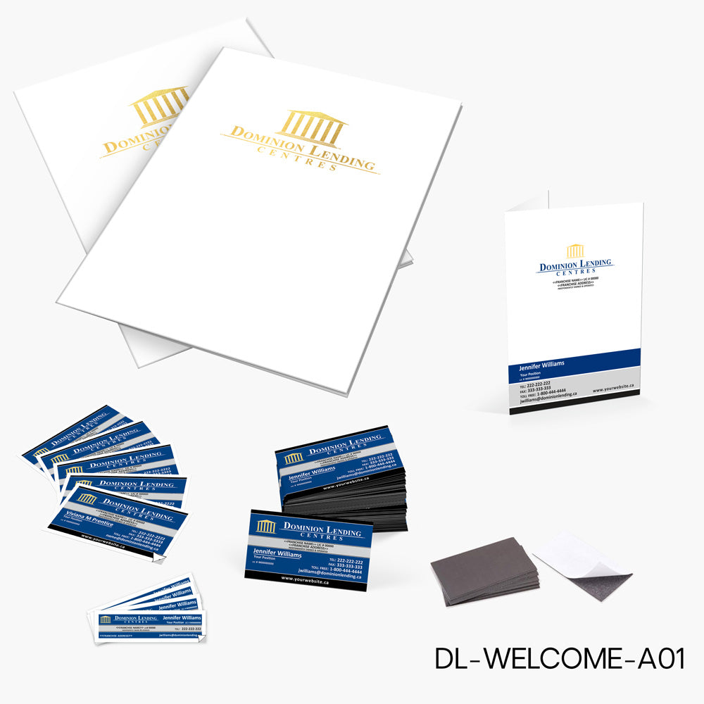 Dominion Lending Welcome Kit A01
