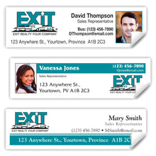 "Load image into Gallery viewer, EXIT Realty Labels (3.5"" x 1"")"